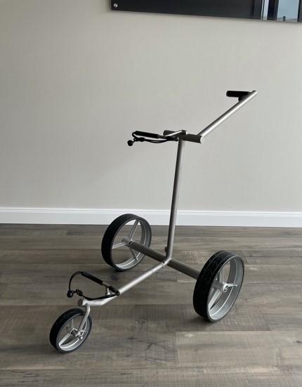 Elektro Golftrolley Quintum Slim Line Aussteller