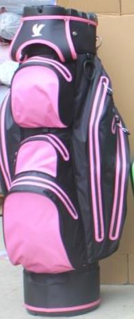 Water Protect Cartbag Organizer Schwarz/ Pink