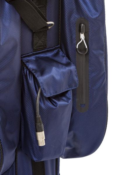 Aqua Protect Cartbag Schwarz/ Weiß
