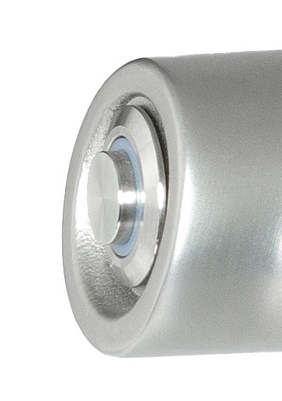 Druckknopd Edelstahl mit LED Ring