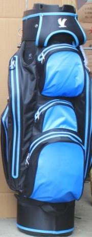 Water Protect Cartbag Organizer Schwarz/ Blau