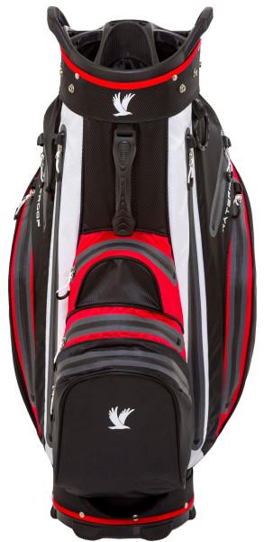 Aqua Protect Cartbag Schwarz/ Rot/ Weiß